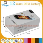Thick paper packing box for cell phone
