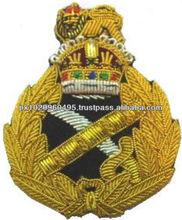 Embroidered Rank Insignia | RAF Cap Badge | Cap Insignia