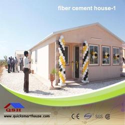 Sandwich panel Fiber cement house