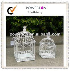 Elegant hanging bird cage