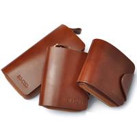 Brown Bifold RFID Blocking Leather Mens Wallet
