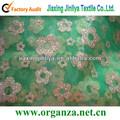 nouvelle fleur 2013 sparying organza tissu pour la décoration