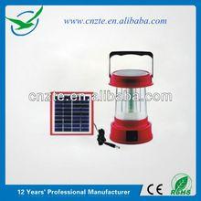 Solar Powered high bright led solar lantern.6V/70 mA Solar Panel.36 LEDs
