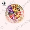 Wholesale Brilliant Round Large Mixed Colors Millennium Diamond Cut Lab Synthetic Cubic Zircon Stone CZ Gems Loose Gemstone