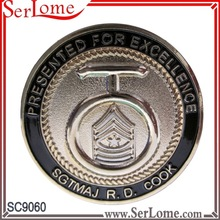 Company Challenge Coin for excellence