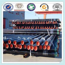 K55 cubierta del aceite del tubo, filtro de aceite de la tubería, de petróleo y gas de tuberías api 5l estándar