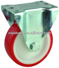 European Industrial PU caster, fixed casters, zhongshan factory
