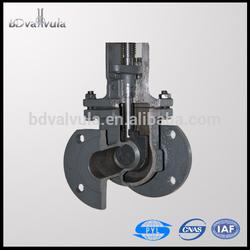 GOST carbon steel manual stem gate valve PN16