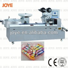 Full Square Candy Bar Wrapping Machine/ Horizontal Packing Machine JY-1200/DXD-1200 With High Efficiency