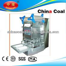high quality plastic box sealing machine food tray sealer