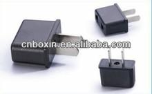 EU to US plug adaptor convert 220v ac to 110v ac CE