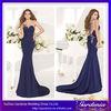 Designers Beaded Top One-shoulder Dark Blue Mermaid Ebay Evening Dress in Turkey Turkish Evening Dress 2014 (ZX011)