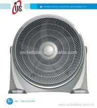 8inch/10inch/12inch box fan turbo fan turbo axial fan with 360 oscillation