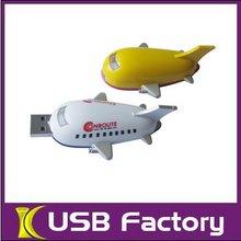 Best design good quality plastic boat usb stick