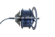 Brushless hub motor, 36 and 48V