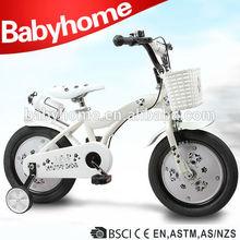 2014 New style white baby kids bike