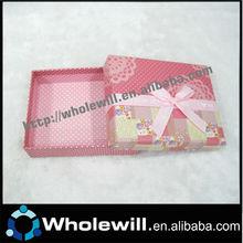 Unique Square Shape Valentine's Gift Paper Boxes