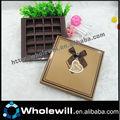 impression personnalisée boîte de chocolat boîte de papier fabricant en chine