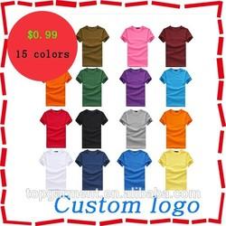 2015 cheapest chinese factory custom plain t-shirts cheap customize t shirt design wholesale t shirts China suppliers
