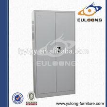 Popular China modern office furniture 2 door adjustable stainless steel metal filing storage cabinet Luoyang yulong FC-S2