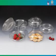 Clear Plastic Take Away Salad Bowl
