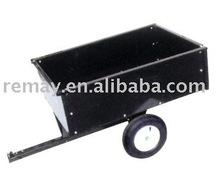 Metal yard cart TC3080D tipping trailer