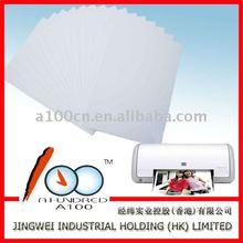 140G Double-sided inkjet name cardstock matte paper