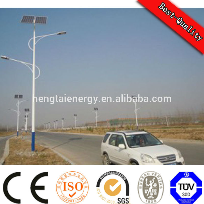 hitech CE ROH ISO outdoor energy saving device solar led street light solar street light