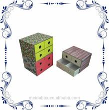 storage box with 4 drawers
