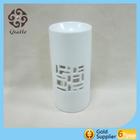 ceramic white candle holder