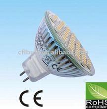 Bajo del poder más elevado MR16 / E27 LED Spotlight bombillas GU10