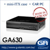 Mini ITX pc Case for Car PC GA630iBK