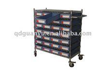 Wire shelving cart PK6209