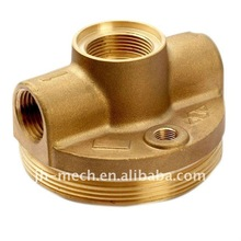 yellow brass sand casting part