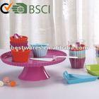Melamine wholesale cake stand