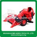 Diesel 9HP arroz trigo Mini cosechadora con surtidor de china