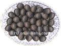 secas semente de lótus com casca preta
