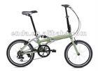 "20"" Aluminum Folding bike"