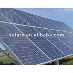 High watt power solar panel 390W for solar power system
