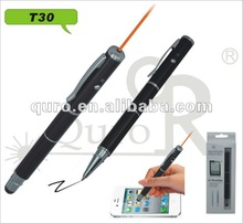 2014 new product 3 in 1 red laser touch screen Stylus pen