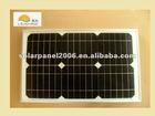 law price mono/poly solar panel 15watts