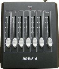6 Channels Professional RGB LED DMX Controller