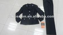 winter women's coat an pants formal suit / office lady's sets