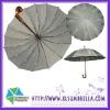 """23"""" Auto open straight 16ribs japanese umbrellas"""