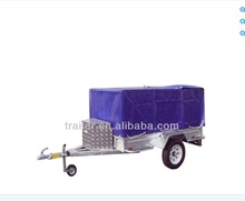 hot dipped galvanized tarp trailer w ith alloy tool box
