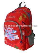 Red star 600D school bag Backpack