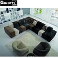 la marca italiana muebles 2014 gps1017 coloridos sofás de tela de diseño