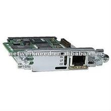Genuine Cisco Module with HOLOGRAM VWIC2-1MFT- G703 interface card
