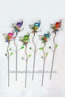 metal butterfly artificial flower garden decoration