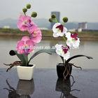 Artificial Potted Orchid Mini Artificial Plant Wholesale